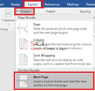 Cara Mengatur Nomor Halaman Pada Microsoft Word 2016
