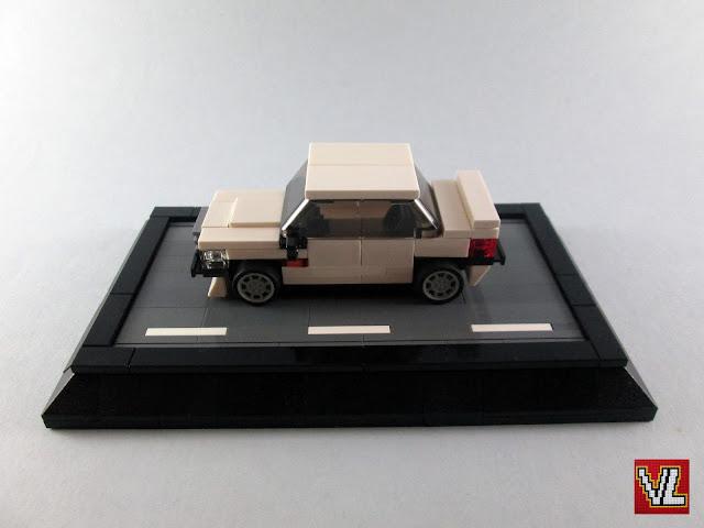 MOC LEGO Mercedes Benz E190