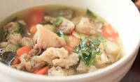 Resep Makanan Anak Sup Daging dan Tahu