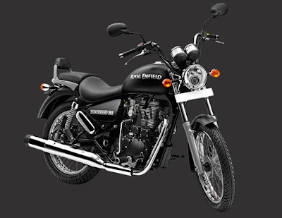 Royal Enfield Thunderbird 500 front pose