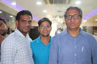 Ankit Jaiswal With Ravish Kumar NDTV