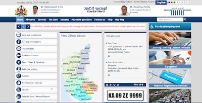 Transport Karnataka Official Website