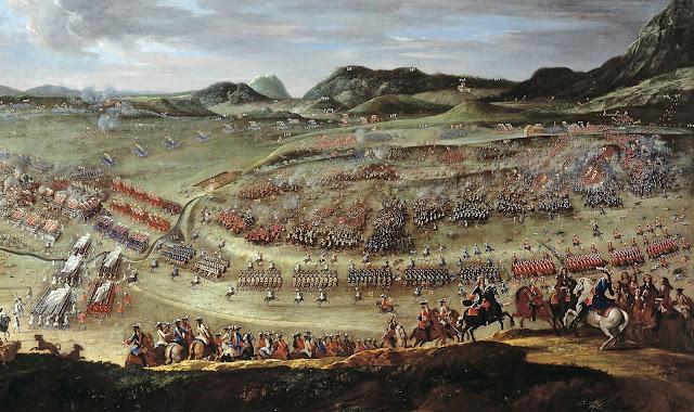 Representació de la batalla d'Almansa