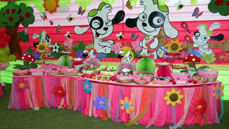 Party Decoration For Girls and Children 1