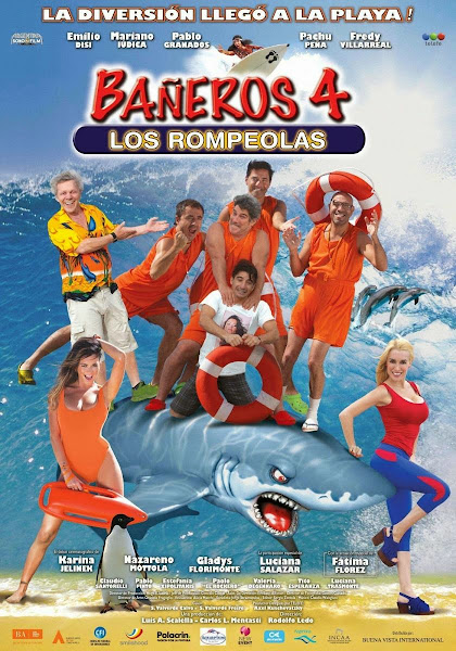 Bañeros 4 Los Rompeolas DVDRip Latino