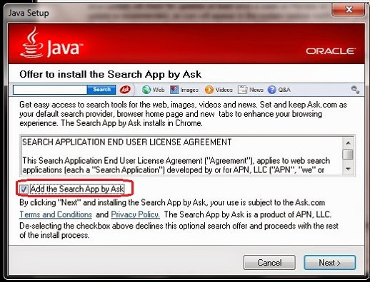 "Oracle's Java installs undesired ""extras"" with every update"
