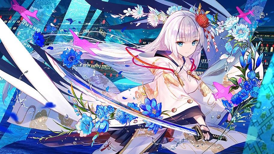 Azur Lane, Shoukaku, Anime Girl, Katana, 4K, #4.1680 Wallpaper