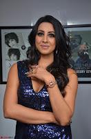 Sanjana looks happy in sparkling short Deep neck Purple Gown ~  Exclusive 30.JPG