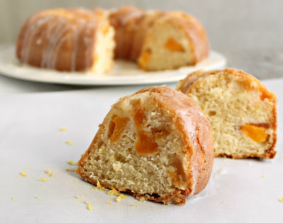 Peachy Buttermilk Bundt