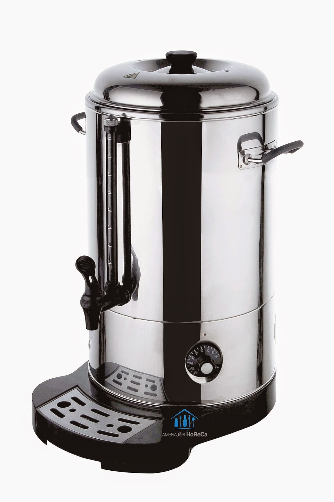 oala electrica,  finisaje premium, pereti dubli, pret, 18 litri, fierbator vin, aparat vin fiert, dozator vin fiert, dozator apa fierbinte, aparat ceai