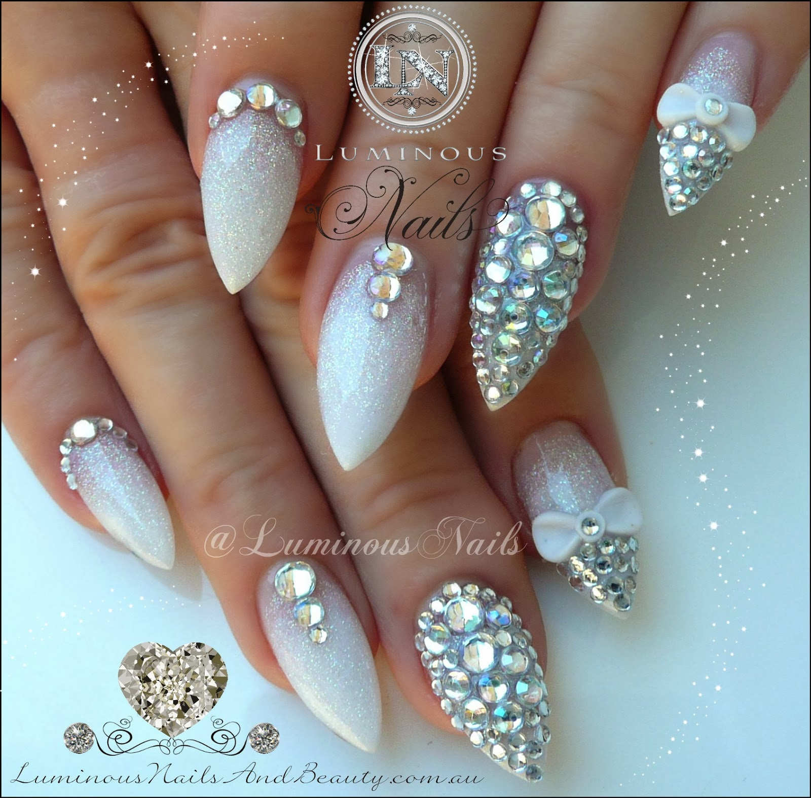 Nails Pearl Rhinestones For Nail Art Can Be Purchased Here For Very