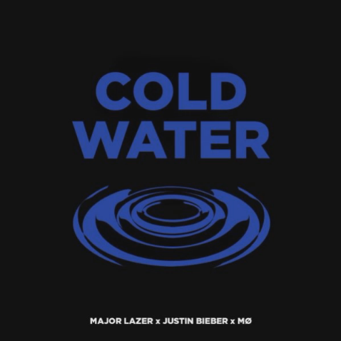 """Escucha """"Cold Water"""", nueva canción de Justin Bieber, Major Lazer y MØ."""