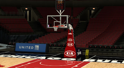 NBA 2K14 Chicago Bulls Court Mod
