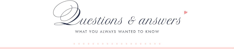 questions & answers, faq