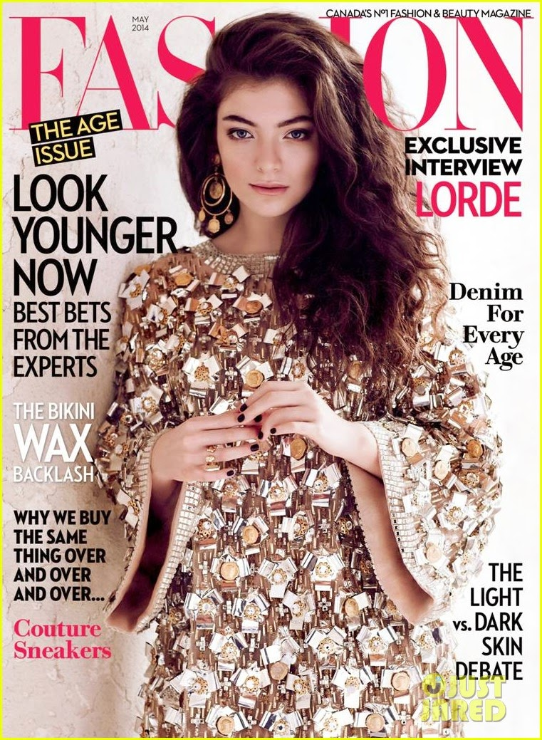 Lorde On The Cover Of Fashion Magazine S May 2014 Issue