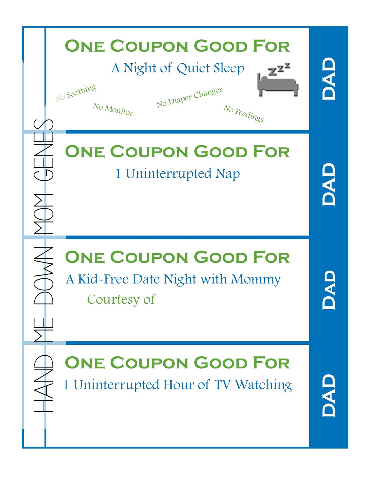 Printable Blank Coupons For Fathers Day 800 Flowers Coupon 20