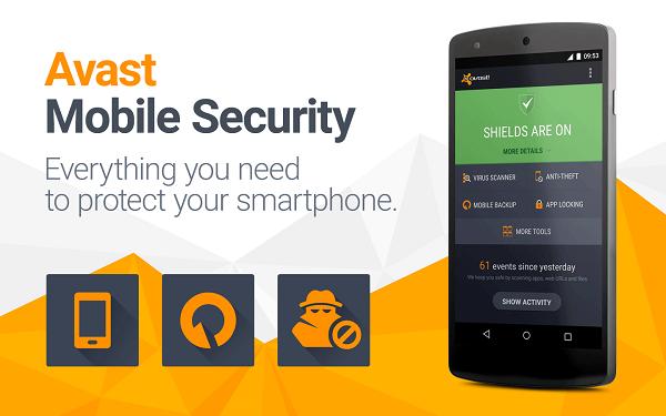 تحميل برنامج أفاست avast Mobile Security النسخة كاملة