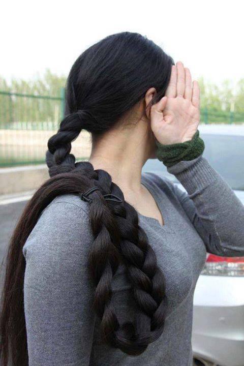 Hair Care And Beauty Tips Long Hair Braid
