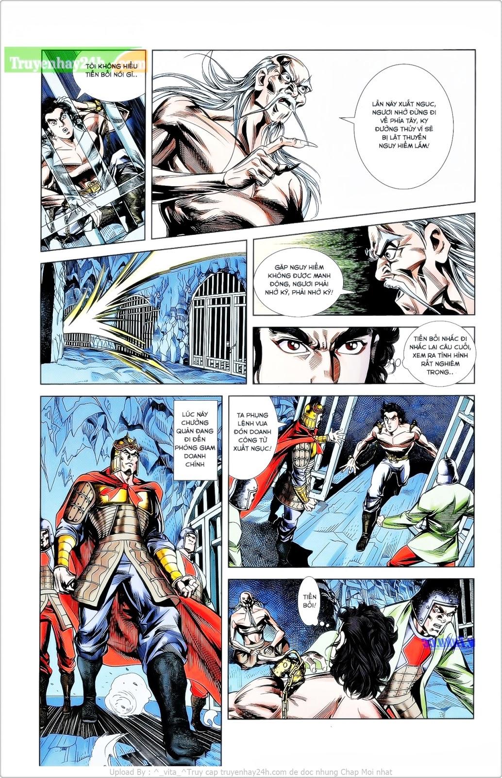 Tần Vương Doanh Chính chapter 26 trang 15