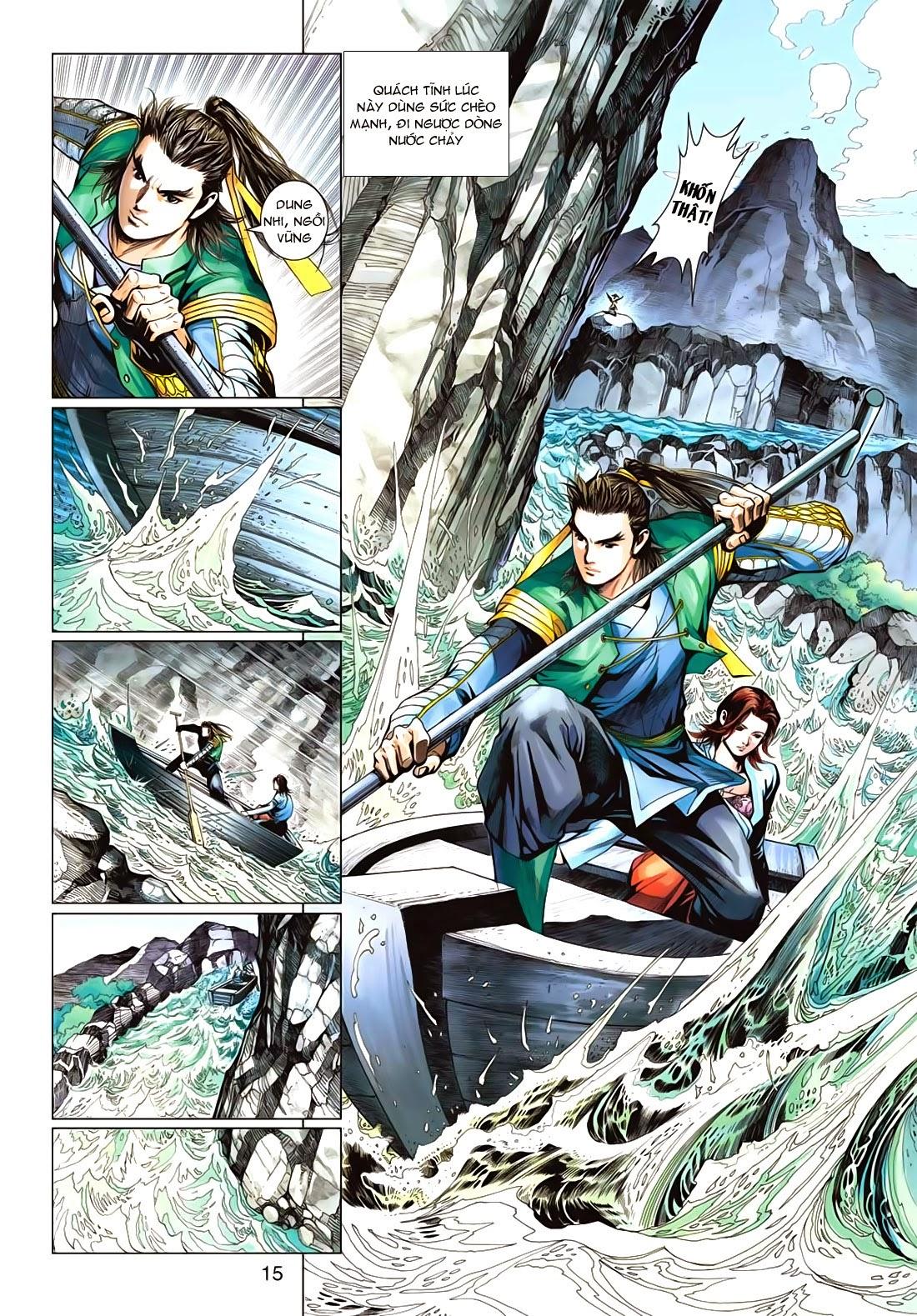 Anh Hùng Xạ Điêu anh hùng xạ đêu chap 72: ngư tiều canh độc trang 15