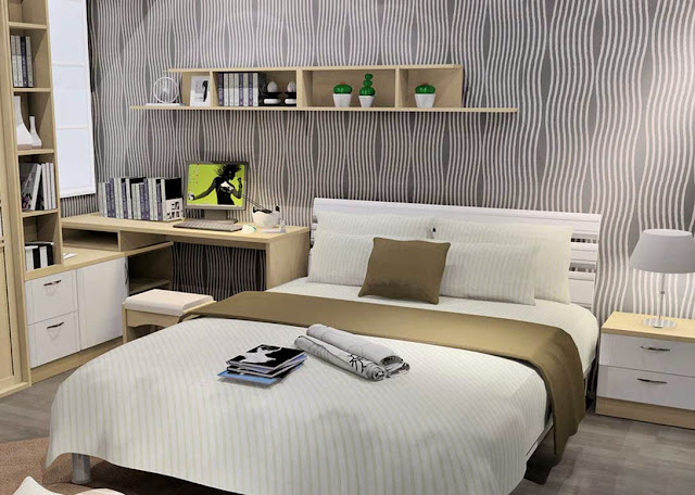 25 Desain Kamar Tidur Minimalis Ukuran 3x4