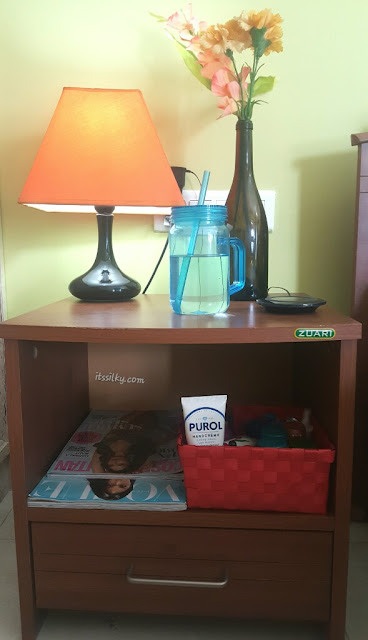 My Bedside Table: Its Silky: WHAT TO KEEP ON YOUR BEDSIDE TABLE?