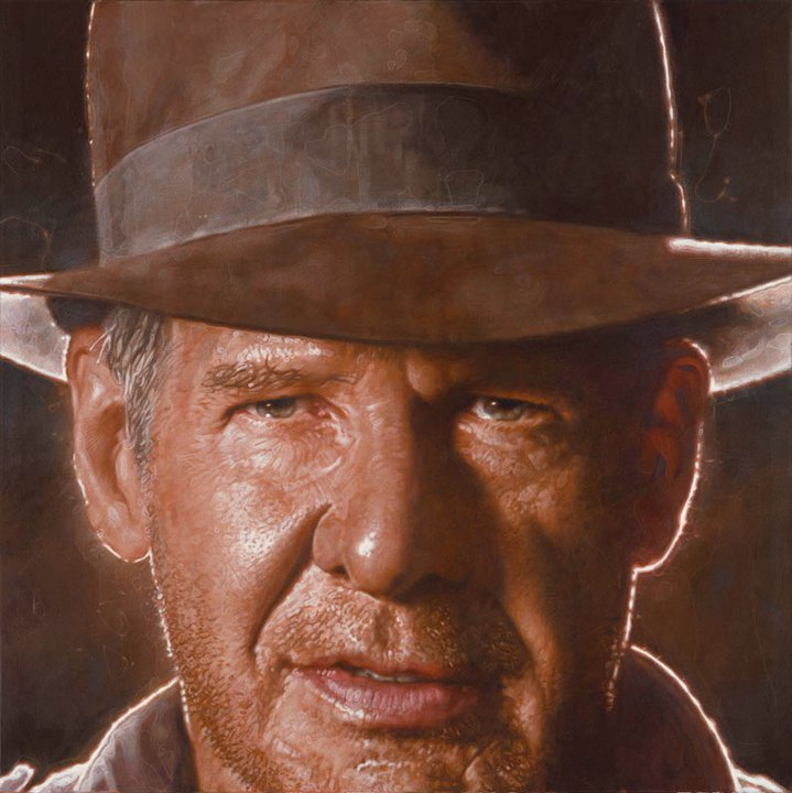Harrison Ford - New Pop Realism - Sebastian Krüger 1963