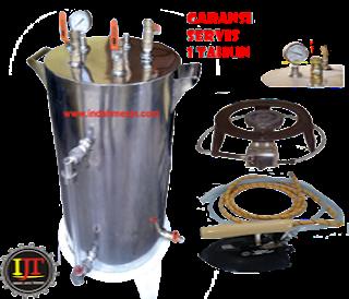 boiler setrika uap murah indah mesin