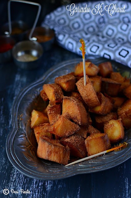 Indori Garadu Chaat recipe