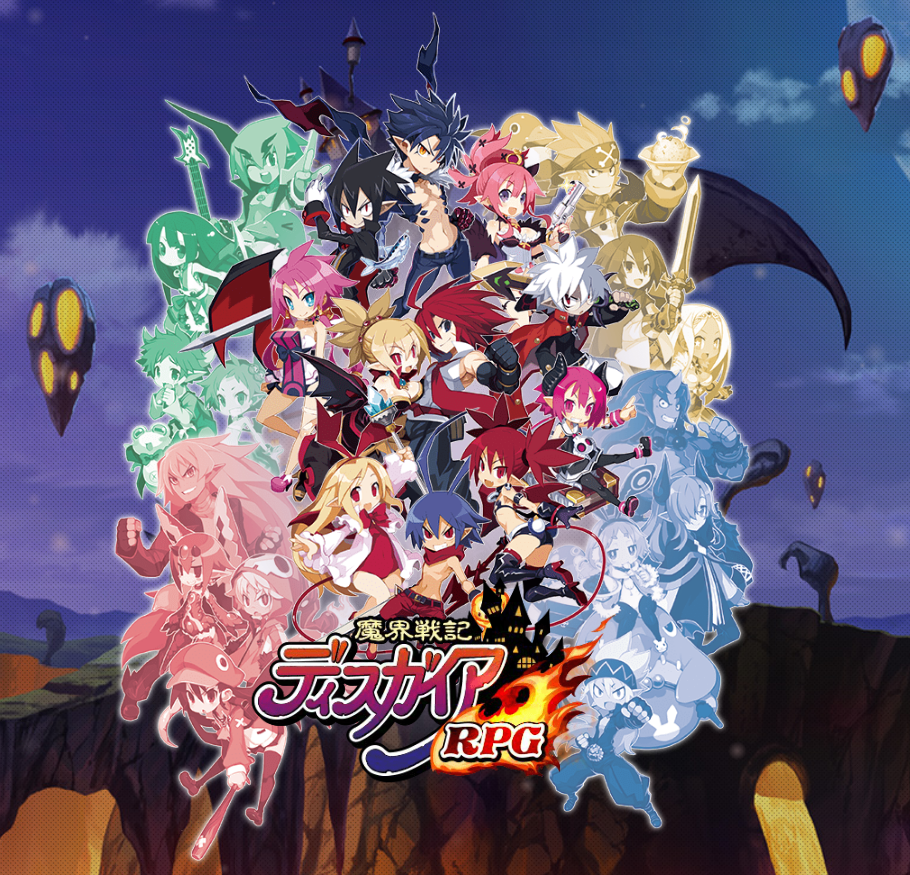 Disgaea RPG mobile Japan version