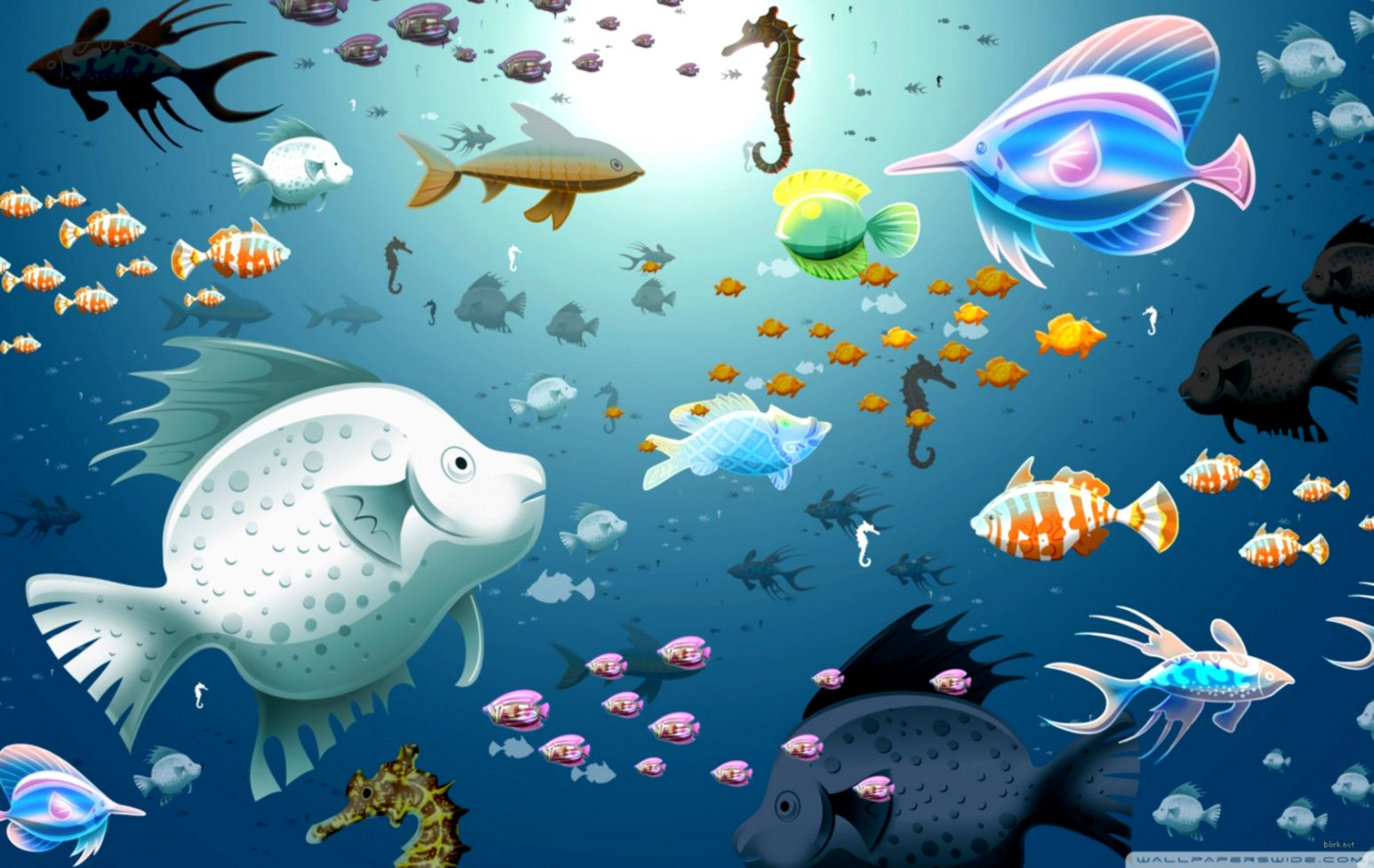 Download x wallpaper coral underwater fish aquatic life