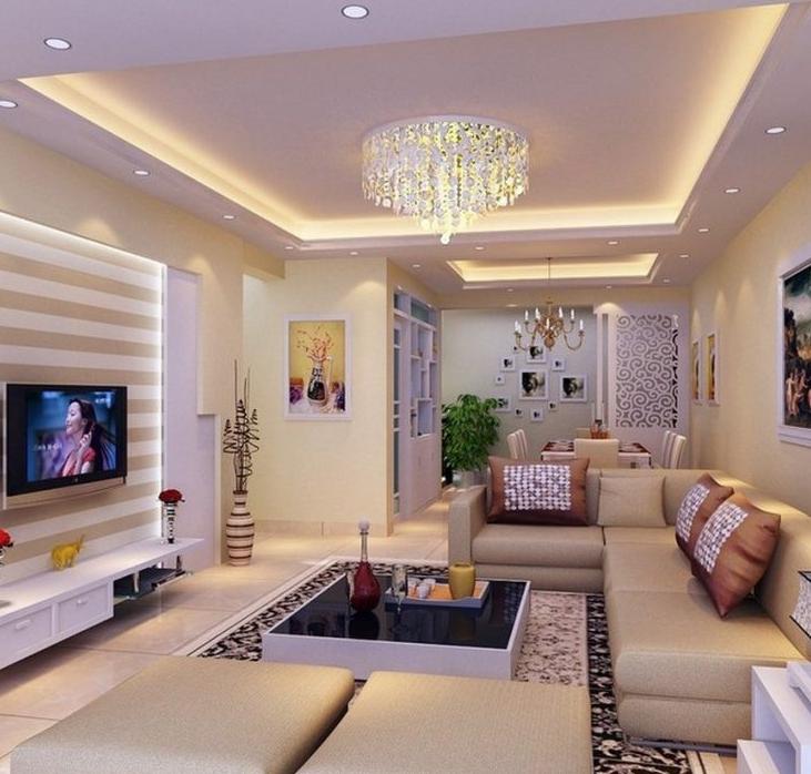 36 Desain Plafon Ruang Tamu Minimalis Ukuran 3x3 Modern Terbaru