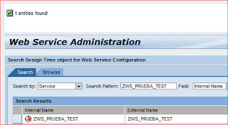 webservice administration