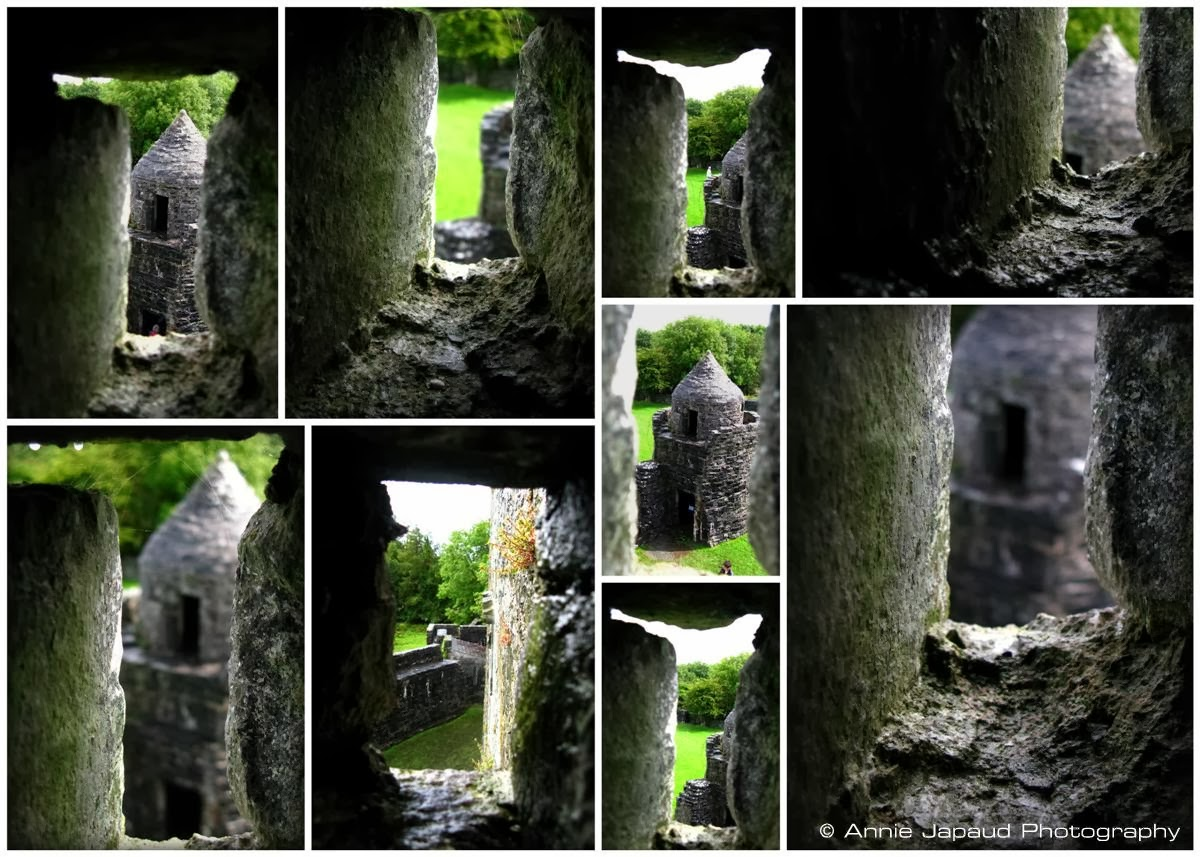 collage of images from AUGHNANURE CASTLE, Oughterard, Co Galway, Ireland