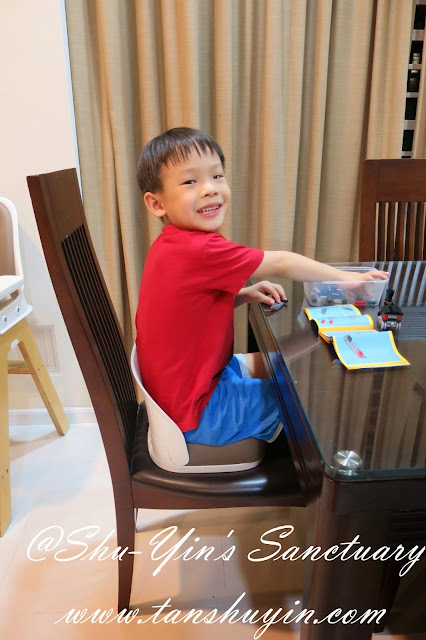 Shu Yin S Sanctuary Review Oxo Tot S Seedling Youth Booster Seat