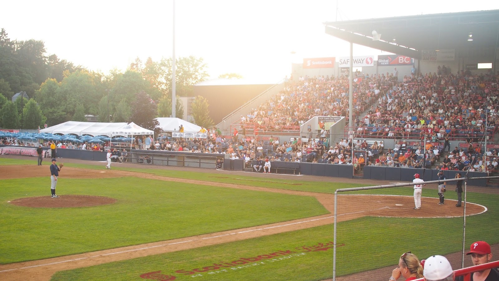 Vancouver Canadians Baseball | Scotiabank Field at Nat Bailey Stadium