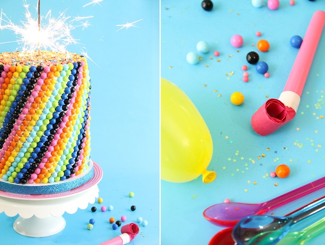 One Year Ago I Was Baking Up A Scratch Made Confetti Cake For This Blogs First Birthday Not Only It Fun To Make