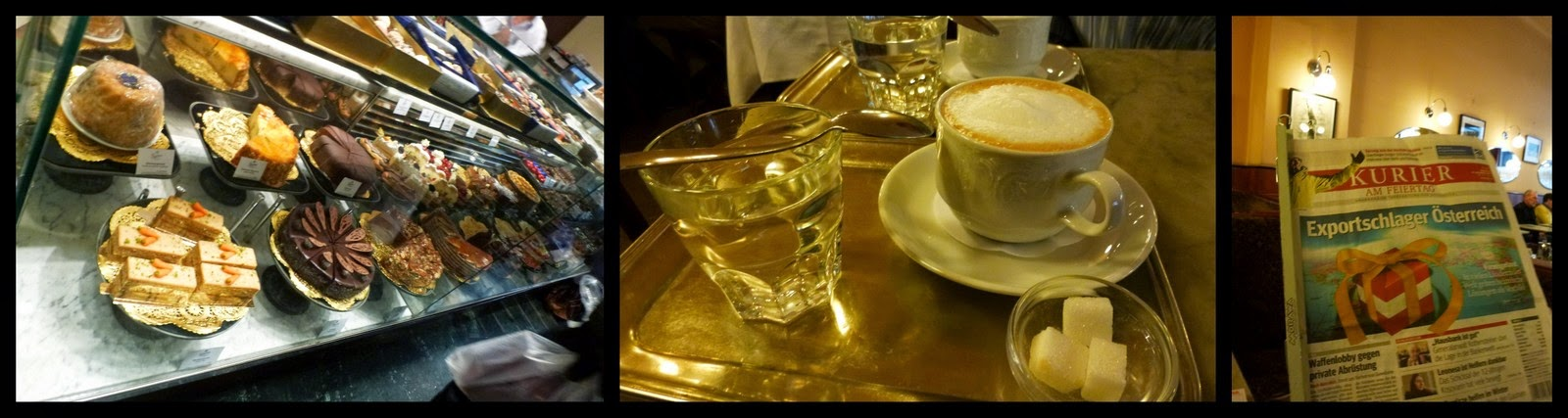 Ryanair Weekend Destination Ideas - Vienna - Cake and Coffee
