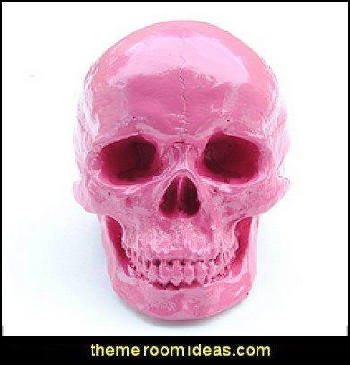 Skull, Hot Pink