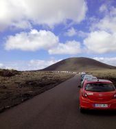 auto in colonna lanzarote