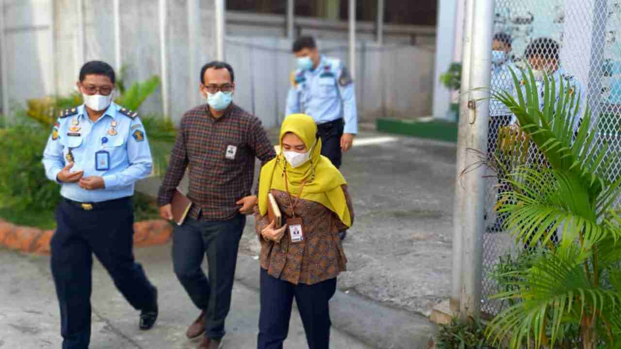 Tim Ombudsman Perwakilan Sumatera Utara mendatangi Lapas Klas I Tanjunggusta Medan terkait pendalaman terhadap kasus vidio viral dugaan penganiayaan dan pungli terhadap S  wargabinaan dalam perkara narkotika.