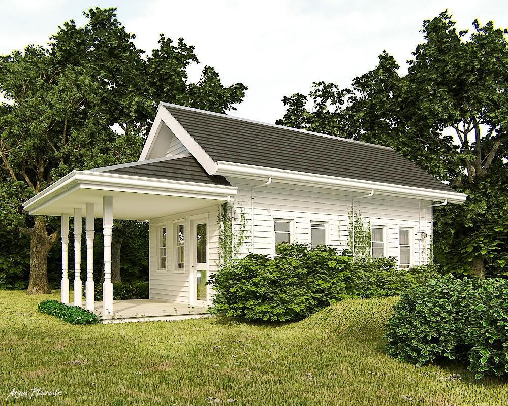 45 Desain Rumah Sederhana Luar Negeri Rumah Minimalis Sobat