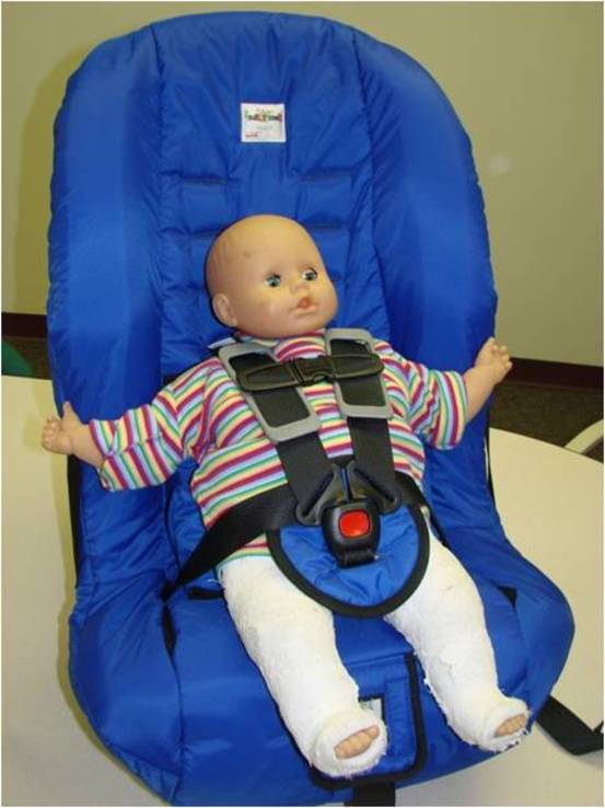 Infant Car Seat For Spica Cast