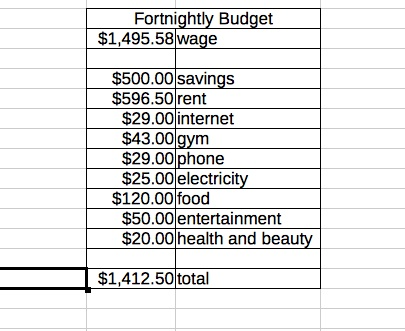 Saving for Travel The Budget