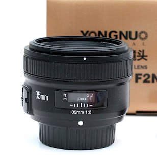 Jual Lensa Yongnuo 35mm F2N for Nikon