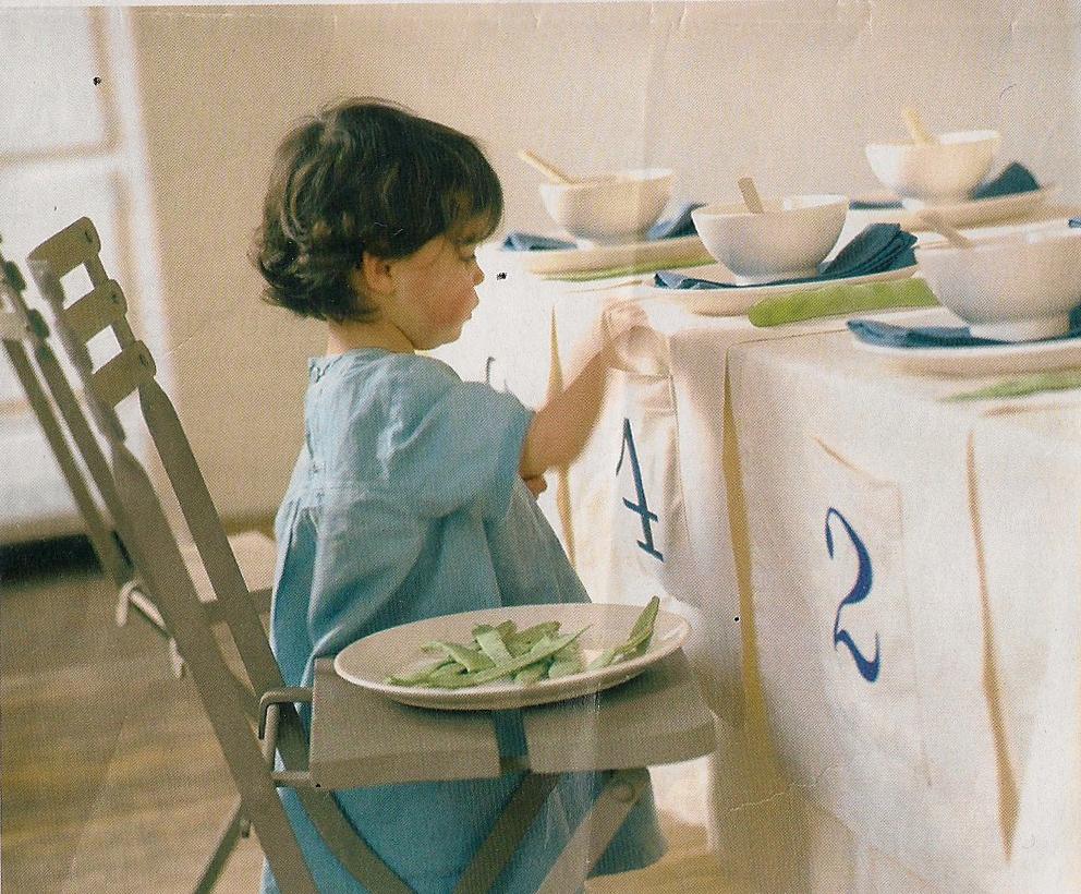 Cosiendo y aprendiendo camino de mesa for Casa al dia