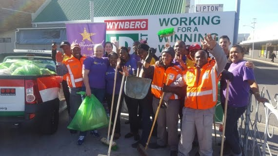 The Hollywoodbets Wynberg Team and Wynberg Improvement District - Nelson Mandela Day - 67 Minutes