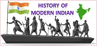 MCQ on History of Modern India in Hindi [Question Bank Set 1]