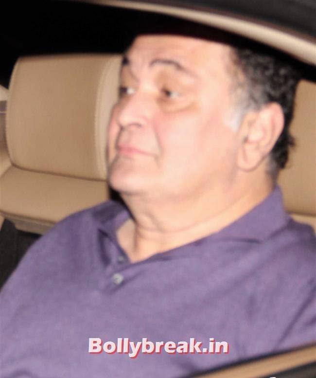 Rishi Kapoor, Alia Bhatt  at Special Screening of Movie Highway