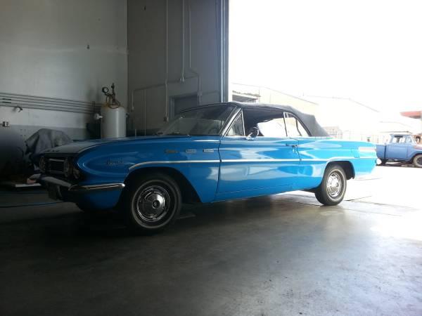 Daily Turismo Senior Compact 1962 Buick Special V8 Convertible